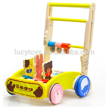Baby hölzernes Trolley Spielzeug