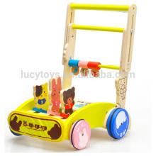 Игрушка детская деревянная тележка