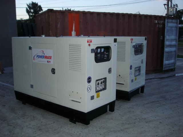 3 Phase 180KVA Soundproof Disel Generator