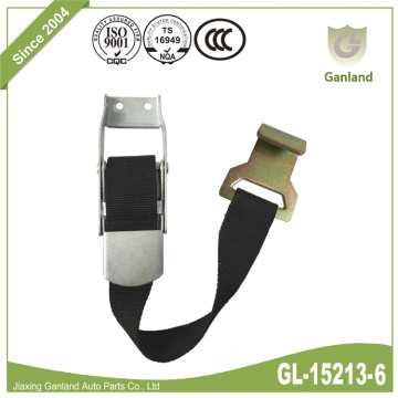 Side Curtain Buckle Assembly With Strap Flat Hook