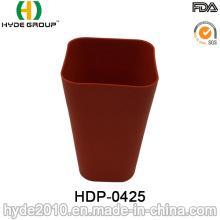 Taza respetuosa con el medio ambiente de la fibra de bambú de BPA (HDP-0425)