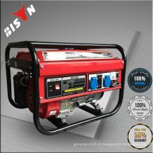 BISON CHINA TaiZhou barato 2kw ar-refrigerado Super Max eliminador gasolina gerador