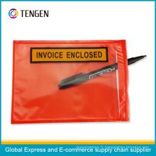 Enveloppes auto-adhésives imprimées de la liste d'emballage