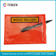 Printed Self-Adhesive Packing List Envelopes Document Pouch