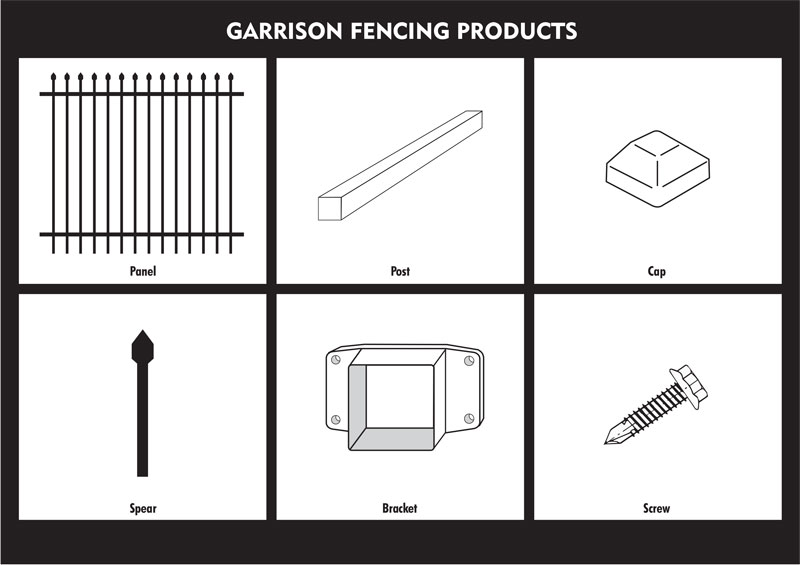 garrison fence,heavy duty security fencing