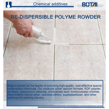 EVA Copolymer Chemical Powder in Cement Based Decorative Mortar