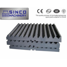High Mn18cr2 and Mn13cr2 Jaw Plate