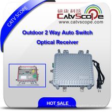 Оптический приемник с 2-мя выходами на выходе, с AGC Csp-1011