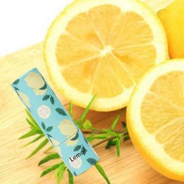 Tube de baume à lèvres au citron Chapstick de réparation nourrissante en gros