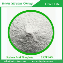 Sodium Acid Pyrophosphate as buffer agent