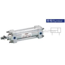 Cylindre standard de la série CA2 de coussin d'air