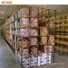 cremalheiras profundas dobro de aço do armazenamento resistente do metal