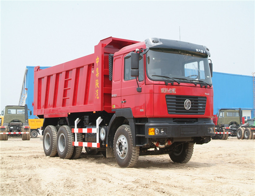 Shacman 6X4 385 HP dump trucks for sale holland with CUMMINS engine shacman dump truck price