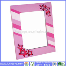 wooden girl creation photo frames