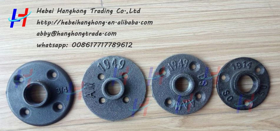3 types of floor flange