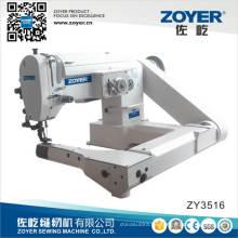 Zoyer alimentación off-brazo Zig-Zag máquina de coser Industrial (ZY3516)