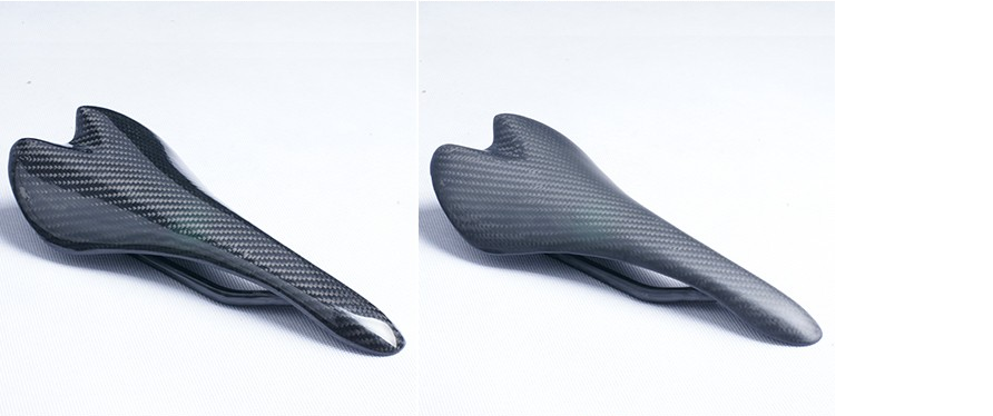 Carbon fiber saddle type