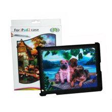 Impresión lenticular 3D de encargo de la venta caliente para la caja del iPad