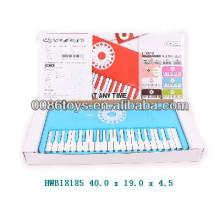 37 teclas con reproductor de MP3 teclado de piano electrónico