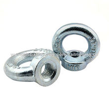 DIN582 Eye Nut, Rigging Hardware, Lifting Industry, Made of Q235 Material, with Galvanized Surface