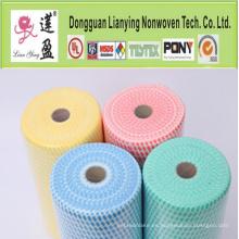 Hot-Selling productos de limpieza de poliéster no tejidos azul