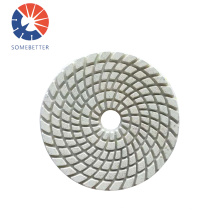 "Marble On Flat Surface Factory Supply 5~10"" Dye Free Orbital Sander Diamond Polishing Pads For Travertine"
