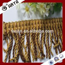 Hangzhou Taojin Vorhang Vorhang Zierbullion Perlen Quaste Fransen für Vorhang Zubehör