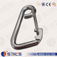 Rigging Hardware Casting Gancho a presión de acero inoxidable