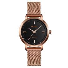 SKMEI 1528 Wholesale Quartz Watch Women Stainless Steel Wristwatch
