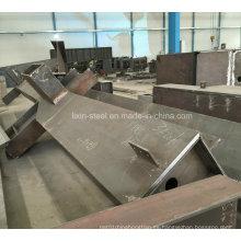 Fabricación del metal para el taller de la estructura de acero, almacén, edificio de la alta subida