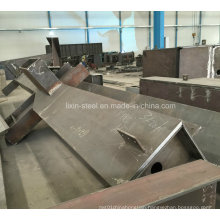 Metal Fabrication for Steel Structure Workshop, Warehouse, High Rise Building