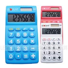 Calculadora de mano de 8 dígitos de doble poder con teclas grandes (LC317A)