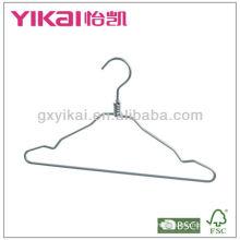 Алюминиевая вешалка для рубашки с широким плечом