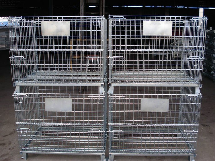 Galvanized Lockable Storage Cage