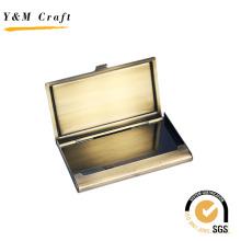 Venda quente Personalizado Promoção de Metal Chaveiro Presente Set Titular do Cartão
