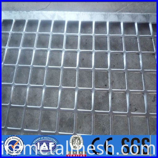 top sell square perforations metal