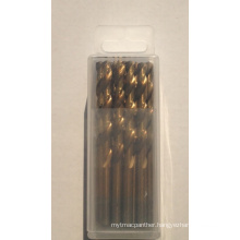 HSS Drill Bit with Different Material M35 DIN338 Plastic Box