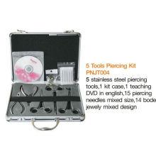 Профессиональный комплект пирсинга для тела 5 высокого качества