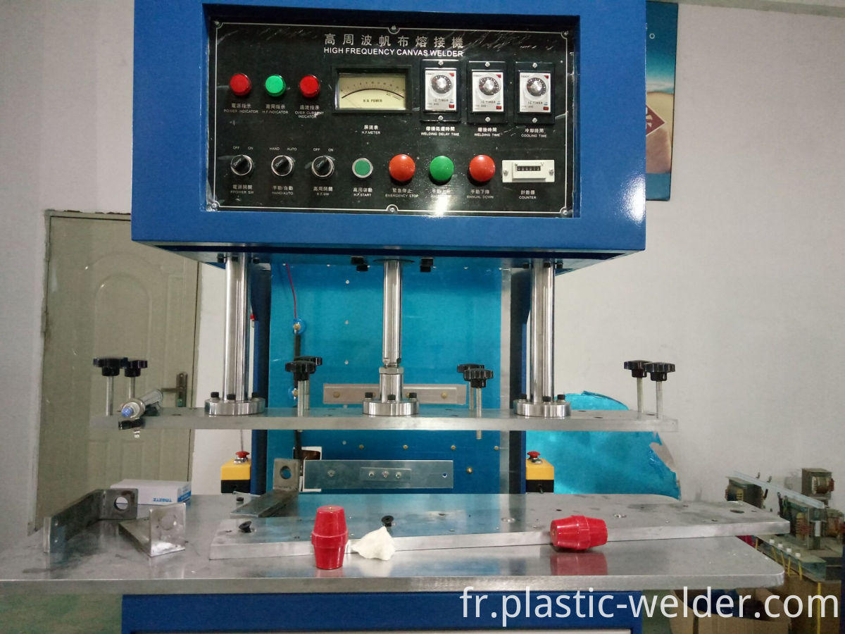 tarpaulin welding machine