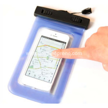 Colorful PVC Waterproof Phone Covers for Floating