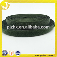 Alibaba Fabric Green magnetic fasten strong adhesive hoop and loop