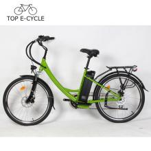 CE EN15194 Günstige E-Bike Elektrische Fahrrad 36 V 300 Watt City Lady Elektrische Fahrrad China