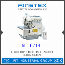 Direct Drive High Speed Overlock Sewing Machine (MT 6714)