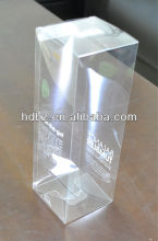 clear plastic package shipping box