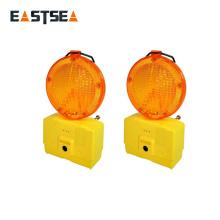 Fábrica en Taizhou China Amarillo o Rojo 6 LED intermitente luz de seguridad de tráfico