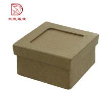 Caja de empaquetado del reloj de papel reciclable de encargo más nuevo de calidad superior