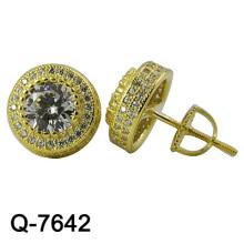 Neue Entwurfs-Art- und Weiseschmucksache-Ohrringe 925 Silber (Q-7642, Q-7643, Q-7644, Q-7644R, Q-7645, Q-7646)