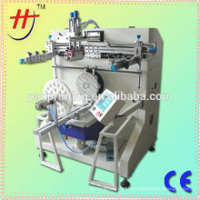 HS 600R Guangdong screen printer manfauctre precision plastic bucket silk screen printing machine
