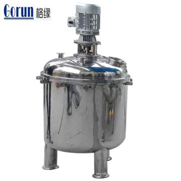 Réservoir de mélange pharmaceutique d'acier inoxydable, mélangeur détergent liquide industriel, prix du distributeur liquide