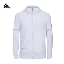 Women Casual Sports Zipper Solid Color Coat Hoodie Jacket